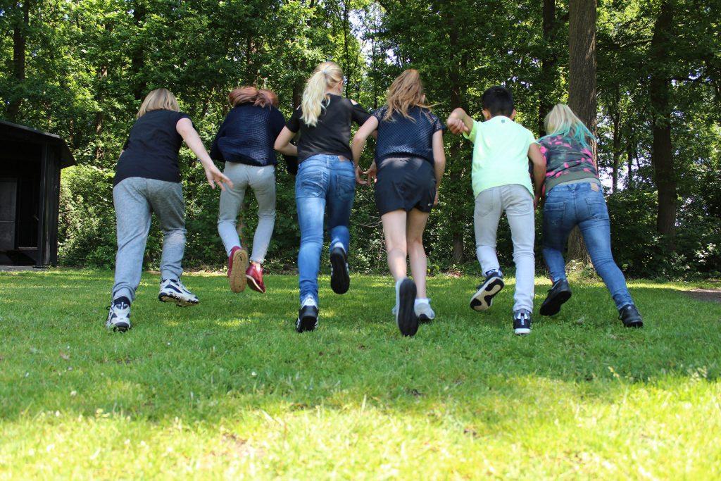 Basisschool de Wingerd - rennen