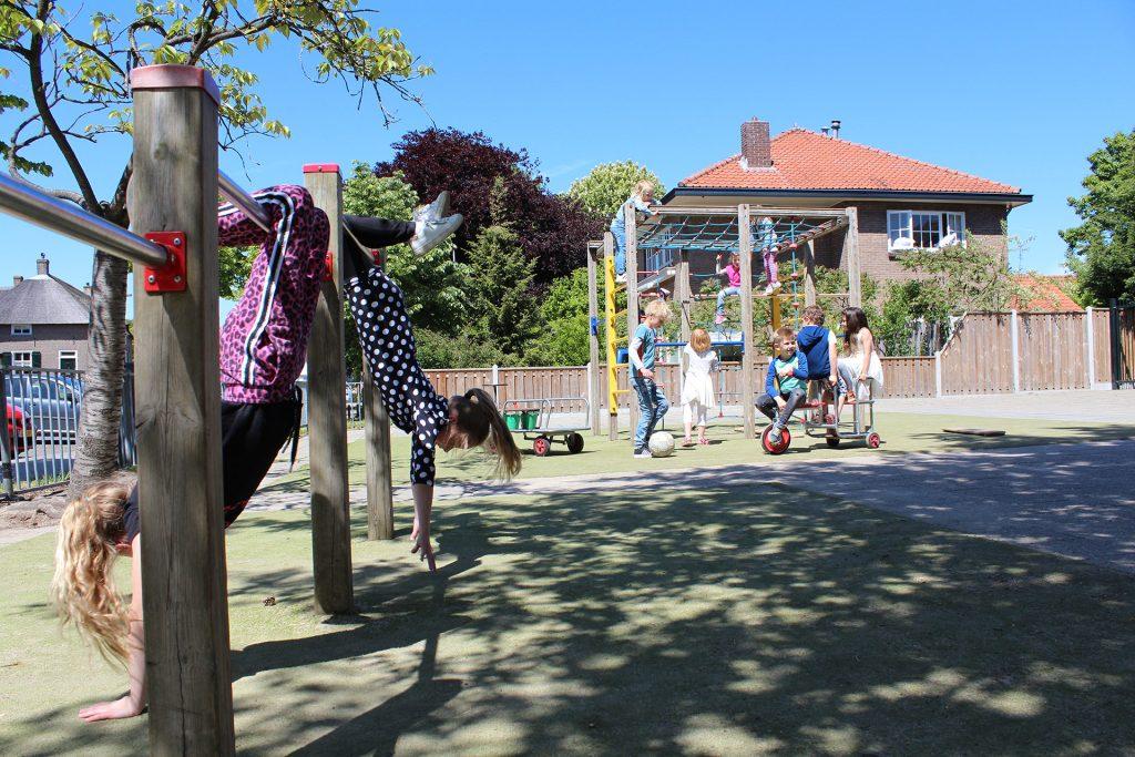Basisschool de Wingerd - speelplaats